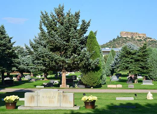 Cedar Hill Cemetery in Castle Rock, Colorado